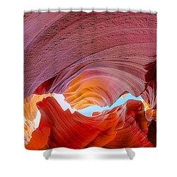 Sandstone Chasm Shower Curtain