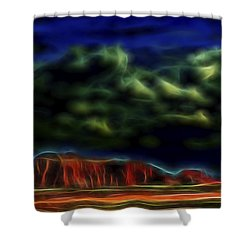 Sandstone Monolith 1 Shower Curtain