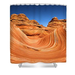 Sandstone Surf Shower Curtain