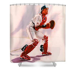 Sandy Alomar Shower Curtain