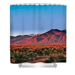 Sangre De Cristos Xxxi Shower Curtain