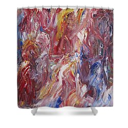 Sanguis Chorea Shower Curtain