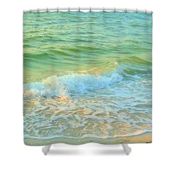 Shower Curtain featuring the photograph Sanibel At Sunset by Janette Boyd