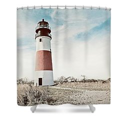 Sankaty Head Lighthouse Nantucket  Shower Curtain