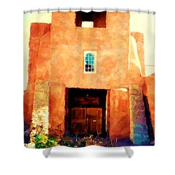 Sanmiguel Shower Curtain by Desiree Paquette