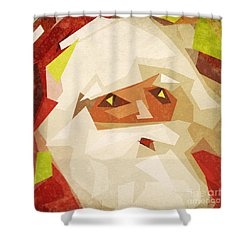 Santa Claus Shower Curtain by Setsiri Silapasuwanchai