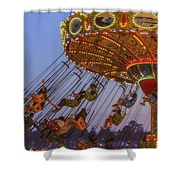 Santa Cruz Seaswing And The Pier 2 Shower Curtain