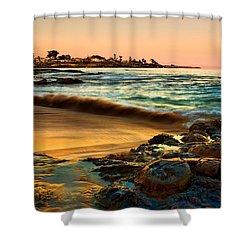 Santa Cruz Sunset Shower Curtain