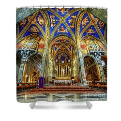 Santa Maria Sopra Minerva 2.0 Shower Curtain by Yhun Suarez