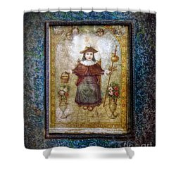 Santo Nino De Atocha Shower Curtain by Savannah Gibbs