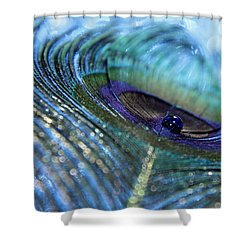 Saphire Blues Shower Curtain
