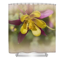 Sarah Shower Curtain by Elaine Teague