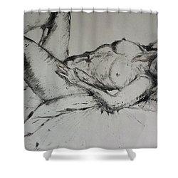 Sarah Sleeping Shower Curtain