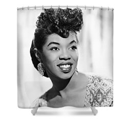 Sarah Vaughan (1924-1990) Shower Curtain by Granger
