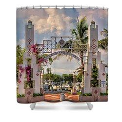 Sarasota Bayside Shower Curtain