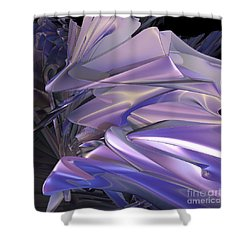 Satin Wing By Jammer Shower Curtain by First Star Art