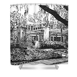 Savannah Living Shower Curtain