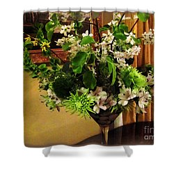 Savannah Still Life Shower Curtain by Joan  Minchak