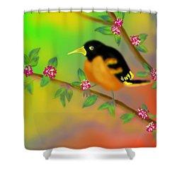 Shower Curtain featuring the digital art Save My Beautiful World by Latha Gokuldas Panicker