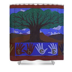 Shower Curtain featuring the photograph Save Our Planet by Ram Vasudev
