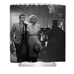 Saying Farewell Shower Curtain by Chris Consani
