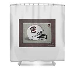 S.c. Gamecocks T-shirt Shower Curtain