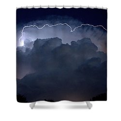 Shower Curtain featuring the photograph Scalloped Edge by Charlotte Schafer