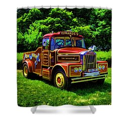 Scammell Highwayman - Color Shower Curtain