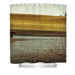 Scarecrow's Realm Shower Curtain