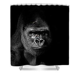Scarface Shower Curtain by Jim Garrison
