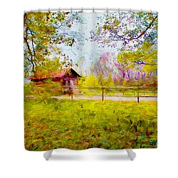 Scenery Series 03 Shower Curtain