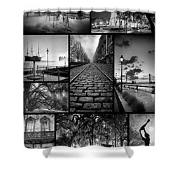 Scenes From Savannah Shower Curtain