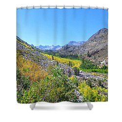 Scenic Peace Shower Curtain by Marilyn Diaz