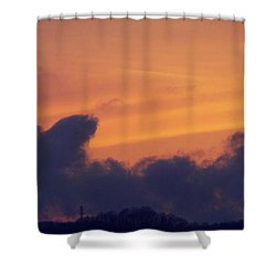 Scenic Sunset Shower Curtain