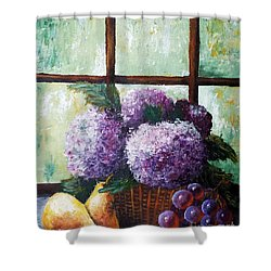 Scent Of Memories Shower Curtain by Vesna Martinjak