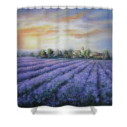 Scented Field Shower Curtain