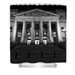 Schermerhorn Symphony Center In Nashville Shower Curtain by Dan Sproul