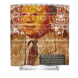 Schindlerjuden Shower Curtain by Seth Weaver