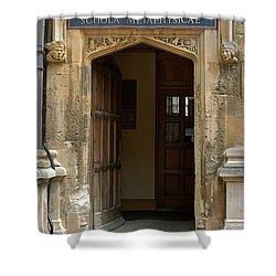 Schola Metaphysicae Shower Curtain by Joseph Yarbrough