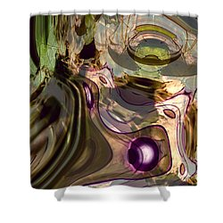 Shower Curtain featuring the digital art Sci-fi Fury by Richard Thomas