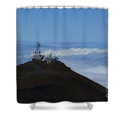 Science City Haleakala Shower Curtain by Sharon Mau
