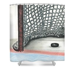 Score Shower Curtain