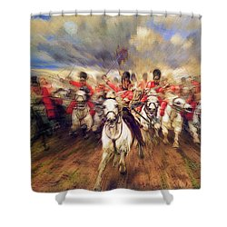 Scotland Forever During The Napoleonic Wars Shower Curtain