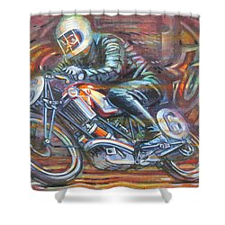 Scott 2 Shower Curtain by Mark Jones