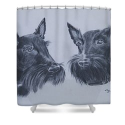 Scotties Shower Curtain