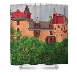 Scottish Castle Shower Curtain