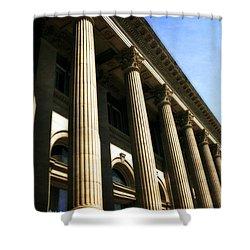 Scottish Rite Building Spokane Washington Shower Curtain