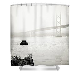 Scottish Transport Shower Curtain