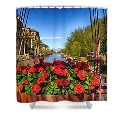 Scottsdale Waterfront Shower Curtain