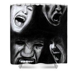 Scream Shower Curtain